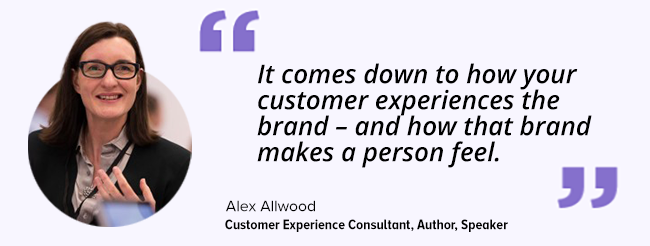 customer satisfaction Alex Allwood
