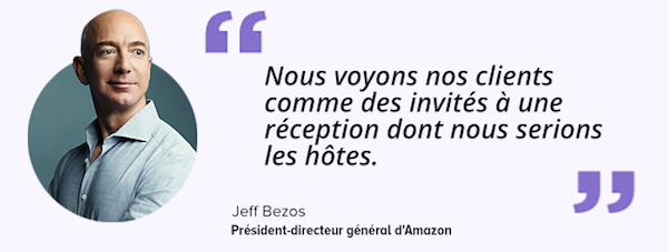 jeff bezos satisfaction client temoignage