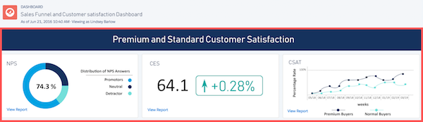 satisfaction client dashboard salesforce myfeelback